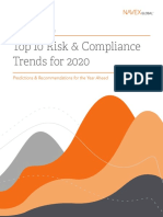 Top 10 Risk & Compliance Trends for 2020