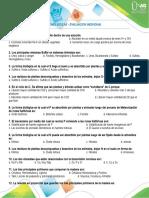 EVALUACION PRESENCIAL BIOMOLECULAS 2019