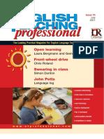 English Teaching Professional Magazine 75