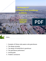 Organic Alberta 2020 Conference Presentation - Chinese Style Passive Solar Greenhouse in Alberta by Jianyi Dong
