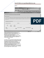 Lista de exercícios - Internet e Navegadores III