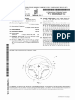 Tesla steering wheel patent