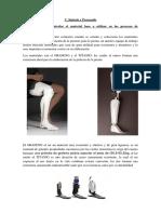 Síntesis y Procesado protesis pierna