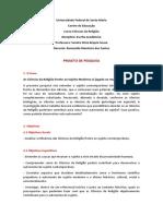 Projeto de Pesquisa.Escrita Academica
