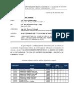 CARTA N°003-2020