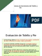 Síndromes del movimiento en tobillo y pie