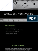 Trabajo - CENTRAL DEL PROCESAMIENTO