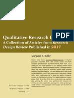 Qualitative Research Design-2017