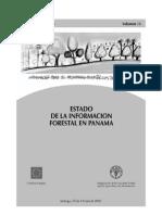 Estado sobre la información forestal en Panamá
