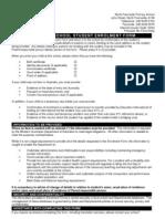 NFPS Enrolment Form