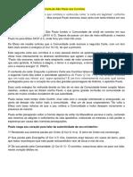 Comentários sobre a segunda Carta de São Paulo aos Coríntios