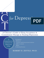 ACT for depression. A clinician's guide using acceptance & commitment therapy in treating depression - Zettle.pdf
