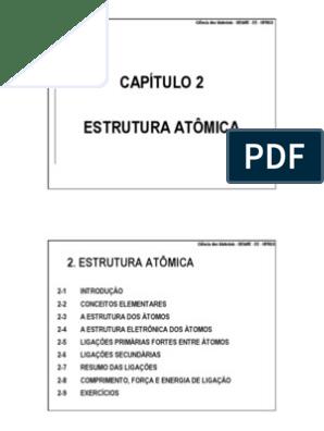 Cm Cap 2 Ligação Iônica Ligação Química