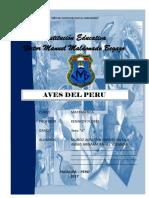 AVES DEL PERU 2017 DE FER