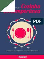 Disciplicna Cozinha Contemporanea - facul promove