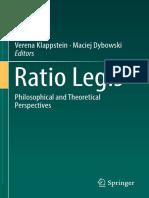 Ratio Legis Ebook