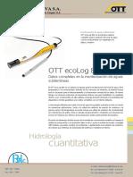 catalogo de OTT ecoLog800