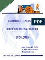 ESTÁNDARES TÉCNICOS PARA MEDICION  EN COLOMBIA Hector Osorio