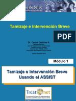 TAMIZAJE E INTERVENCION BREVE