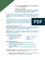 ACEPTACIÓN DEL CLIENTE Y REALIZACIÓN DE LA PLANEACIÓN INICIAL DE LA AUDITORÍA.docx