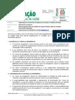 DGS - Organização do material de emergência nos serviços e unidades de Saúde