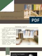 LITERATURA introdução