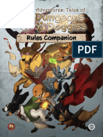 Dungeon Doggies Rules