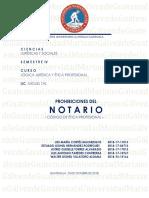 PROHIBICIONES DEL NOTARIO