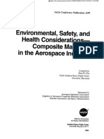 Environmental, Safety and Healt Considerations-Composite Materials
