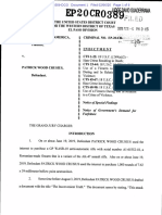 02.06.20 Federal Indictment of alleged Aug. 3 Shooter Patrick Crusius