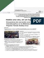 (Póster) Informe resultados de Prácticas Socioeducativas