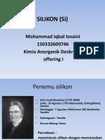 Deskriptif SILIKON