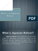 PPT - AGRARIAN REFORM