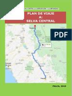 PLAN DE VIAJE DE ESTUDIO 2019