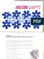 Manual Knitting Machine Mitsubishi_mh700