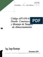 Codigo API 650-653 Diseño Construccion y Montaje de Tanques de Almacenamiento.pdf
