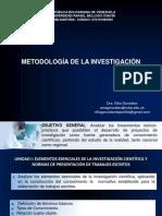 Metodología. URBE. Nilia González.pptx
