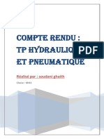 tp pneumatique et hydraulique