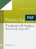 Ispano, Pietro. - Trattato Di Logica - Summule Logicales [Bilingue] [2003]