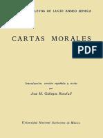 Seneca. - Cartas Morales [1951]
