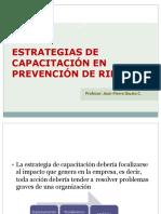 Estrategias de Capacitación en Prevención de Riesgos