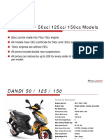 SCOOTERS SECTION 5  50CC & 125cc & 150CC Models