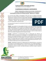 1- DOCUMENTOS QUE GARANTICEN LA OPERACIÓN Y MANTENIMIENTO DEL PROYECTO.docx