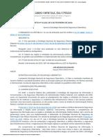 Decreto Nº 10.222, 05 FEV 2020 Estratégia Nacional de Segurança Cibernética.