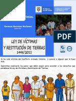 1 - LEY DE VICTIMAS