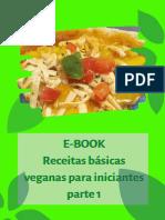 E-BOOK Receitas Básicas Veganas Para Iniciantes