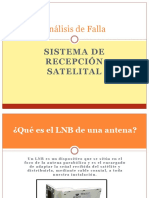 Análisis de Falla Presentación sistema de recepción satelital