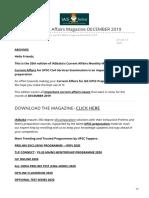 iasbaba.com-IAS UPSC Current Affairs Magazine DECEMBER 2019