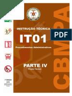 IT 01-PARTE-IV- PROJETOS TECNICO
