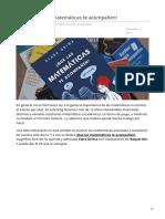 gaussianos.com-Libro Que las matemáticas te acompañen